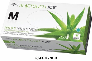 (SOLD-OUT) Latex Gloves AloeTouch Ice