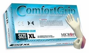 (SOLD-OUT) Latex Gloves | Microflex Comfort Grip