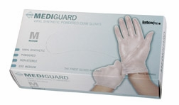 (SOLD-OUT) MediGuard Synthetic Exam Gloves