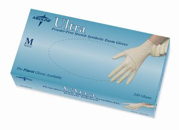 (SOLD-OUT) MEDLINE (Ultra Synthetic Vinyl Exam Gloves)