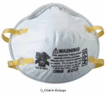 (SOLD-OUT) N95 Particulate Respirator Niosh N95 Approved-Cone