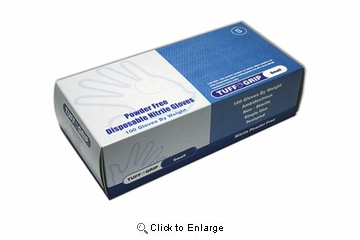 (SOLD-OUT) Nitrile Gloves Industrial (Powder-Free)