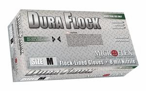(SOLD-OUT) Nitrile Gloves: Microflex Dura Flock