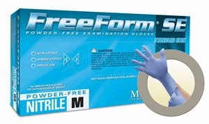 (SOLD-OUT) Nitrile Gloves: MicroFlex Free Form SE