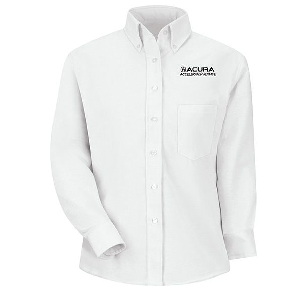 1128WH Acura® Accelerated Women's Long Sleeve White