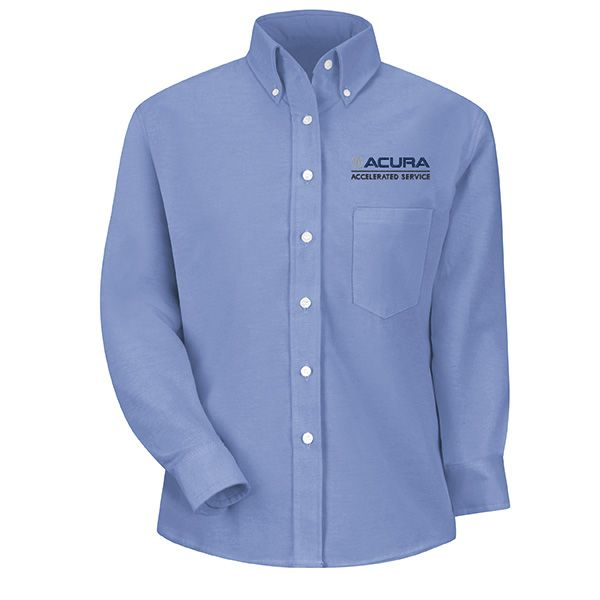 1127LB Acura® Accelerated Women's Long Sleeve Light Blue