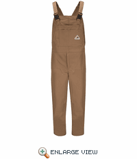 BLN6 Brown Duck Insulated Bib Overall