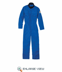 Bulwark 1064RB Men's Royal Blue Coverall - Nomex® IIIA with Shield CXP - 4.5 oz. - CAT 1