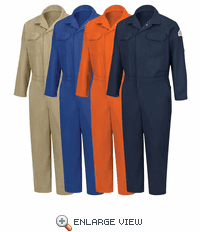 Bulwark CED2 Flame Resistant EXCEL- FR  Deluxe Contractor Coverall (4-Colors)