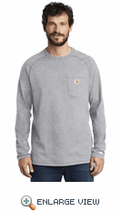 Carhartt Force ® Cotton Delmont Long Sleeve T-Shirt (4 Colors)