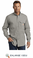 Carhartt Force ® Ridgefield Solid Long Sleeve Shirt (3 Colors)