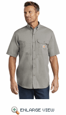 Carhartt Force ® Ridgefield Solid Short Sleeve Shirt (3 Colors)