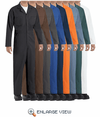 CT10 Twill Action Back Coveralls by REDKAP (9-Colors)