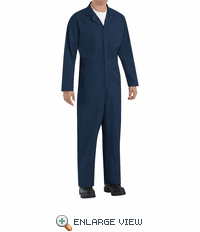 CT10NV Twill Action Back Coverall by REDKAP