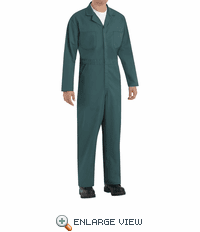 CT10SG Twill Action Back Coverall by REDKAP