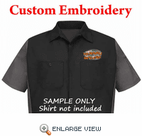 Custom Embroidery - Re-Orders