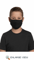 District ® Youth V.I.T.™ Shaped Face Mask (5 pack)