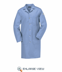 KEL2LB EXCEL-FR Flame-Resistant Light Blue Lab Coat