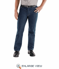 PD54 Classic Prewashed Denim Work Jean
