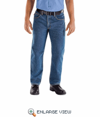 PD60SW Relaxed Fit Stonewash Denim Jeans