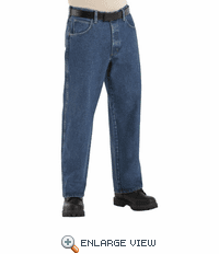 PEJ6 Excel-FR Stone Washed Loose Fit Jean