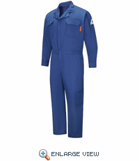 QC24RB IQ Series® Men's Royal Blue Lightweight Mobility Coverall