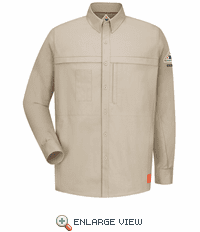 QS20 iQ Series® Long Sleeve Concealed Pocket Shirt