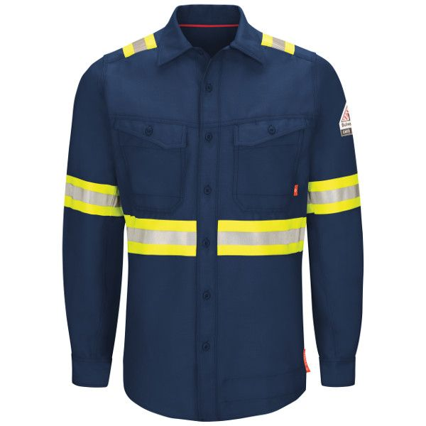 6d2d93c7084e QS40NE iQ Series® Endurance Enhanced Visibility Work Shirt