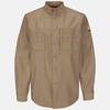QS42KH iQ Series® Khaki Endurance  Uniform Shirt