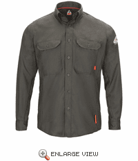 QS50 iQ Series® Long Sleeve Comfort Woven Lightweight Shirt