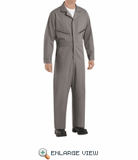 Red Kap CC18 Cotton Coveralls, Zipper Front