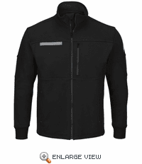 SEZ2 Male Zip Front Fleece Jacket-Cotton/Spandex Blend