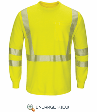 SMK8 Hi-Visibility Lightweight Long Sleeve T-Shirt