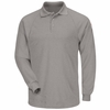 SMP2GY Classic Long Sleeve Grey Polo - CoolTouch®2