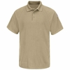 SMP8KH Classic Khaki Short Sleeve Polo - CoolTouch� title=