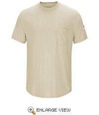 SMT6KH Short Sleeve Lightweight Khaki T-Shirt