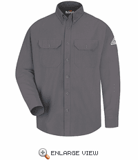 SMU2GY Cool Touch II Grey Flame Resistant Dress Uniform Shirt