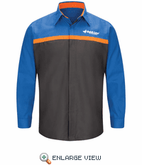 SP14QL Ford Quick Lane® Long Sleeve Technician Shirt