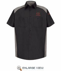 SP28TT Toyota® Men's Short Sleeve Motorsports Shirt