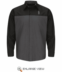 SY14LN Lincoln® Long Sleeve Technician Shirt