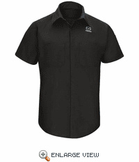 SY24MZ Mazda® Short Sleeve Technician Shirt