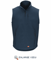 VP62NV Soft Shell Navy Vest