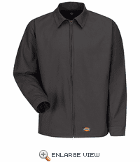 WJ40CH Dickies Charcoal Canvas Work Jacket
