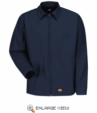 WJ40NV Dickies Navy Canvas Work Jacket