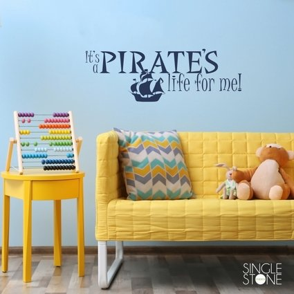It's a Pirate's Life For Me! - Wall Decals