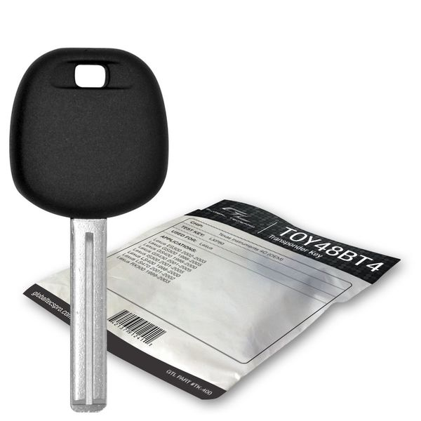 1999 Lexus GS300 transponder key blank TOY48BT4