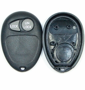 2 button Buick, Pontiac, Oldsmobile Remote replacement case/shell