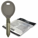 2001 Chrysler LHS transponder key blank