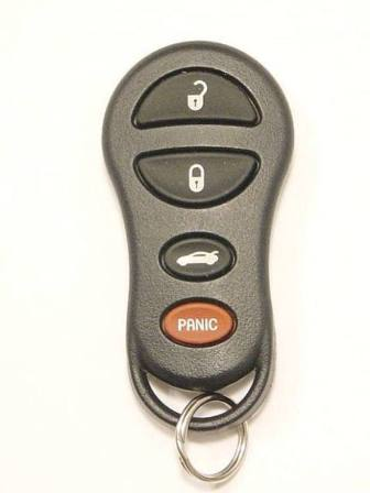 2001 Dodge Neon Keyless Entry Remote 04602268AA 04602268AB 04602268AC