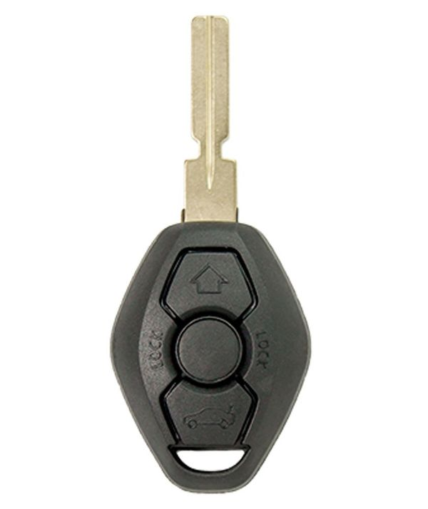 BMW 3 Button Remote Head Key - Aftermarket Ilco brand LX8FZV